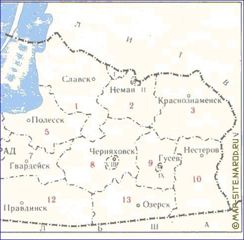 Карта Калининграда С Достопримечательностями.Rar