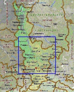 Интерактивная карта Красноярского края: http://intermapsite.narod.ru/krasnoiarskiikrai/krasnoiarskiikrai3_2.html